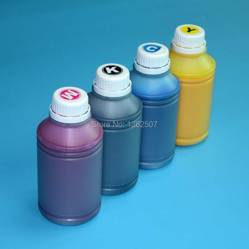 500ML X 4Colors Color vivid ink GC 41 gc41 Pigment ink For Ricoh SG3100 SG3110 SG2100 SG2010 Printers Refill Ink Cartridges