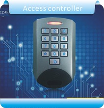 Free shipping U9 Waterproof &Metal case access control /RFID 125KHZ +password control, free send 10pcs crystal keys