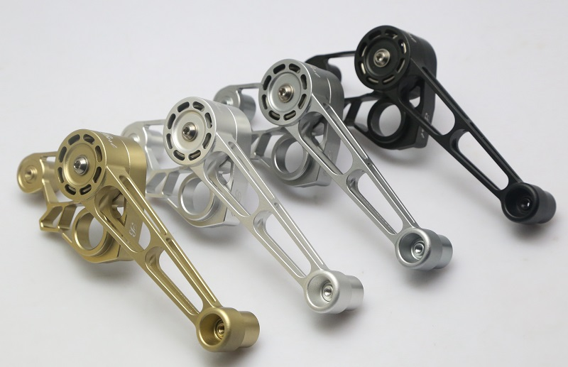 lightweight CNC chain tensioner set 1 2 3 6speed for brompton