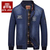 Brand AFS JEEP Jeans Jackets 2016 Autumn Winter Men Casual Pockets Clothes Outdoor Sports Army Jacket