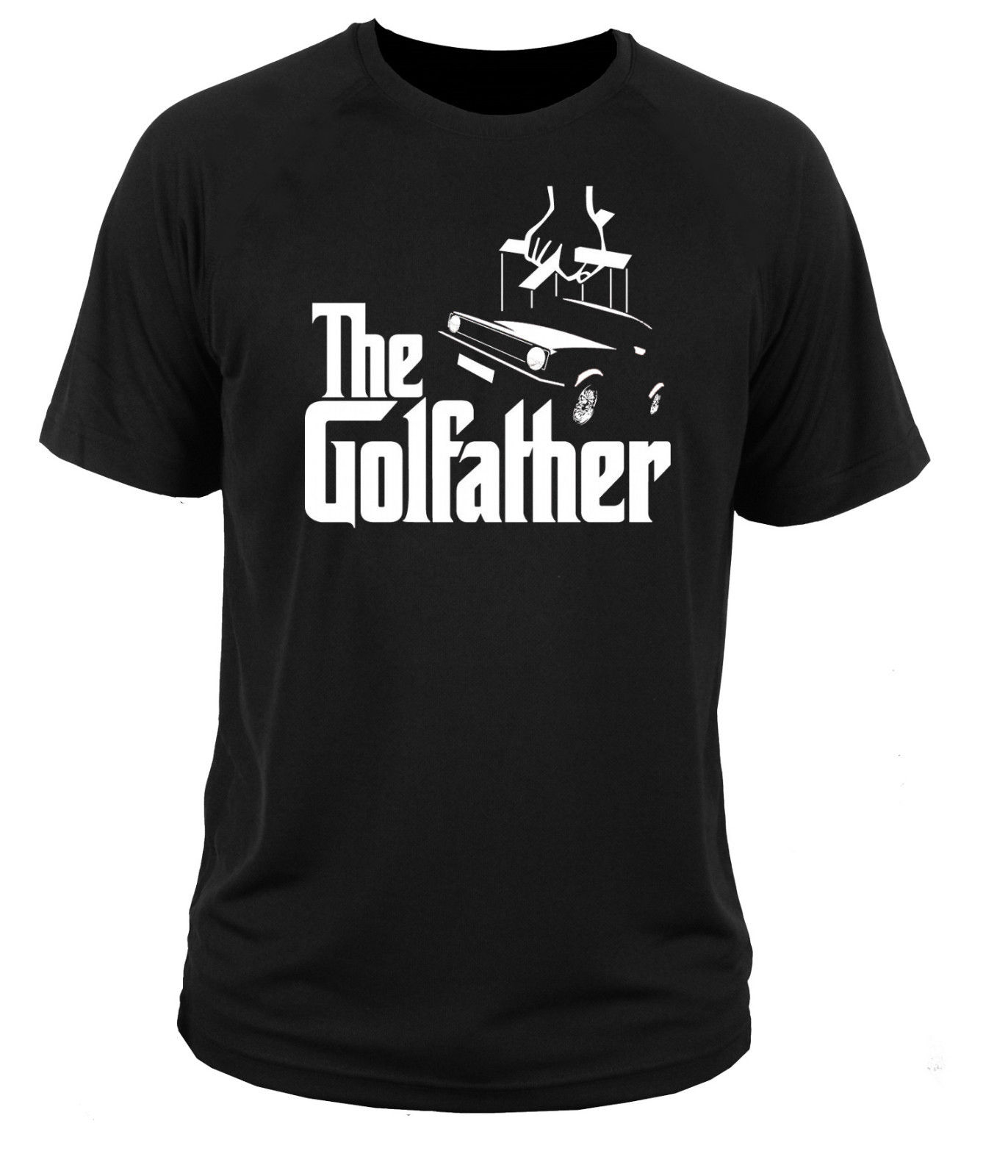 2018 New Cool Tee Shirt T Shirt T-shirt Golfather Golfs Caddy Mk1 Mk2 Mk3 Mk4 Car Tees
