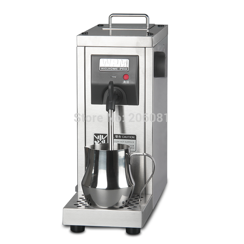Welhome professional milk steamer/commercial milk foaming machine/ milk frother maker for cappucinno and latte coffe