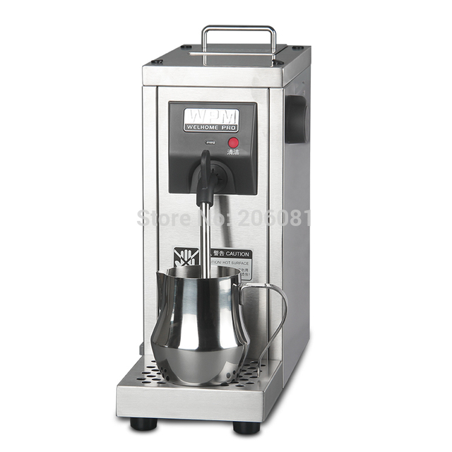 Welhome Professional Milk Steamer Commercial Foaming Machine Frother Maker For Cucinno And