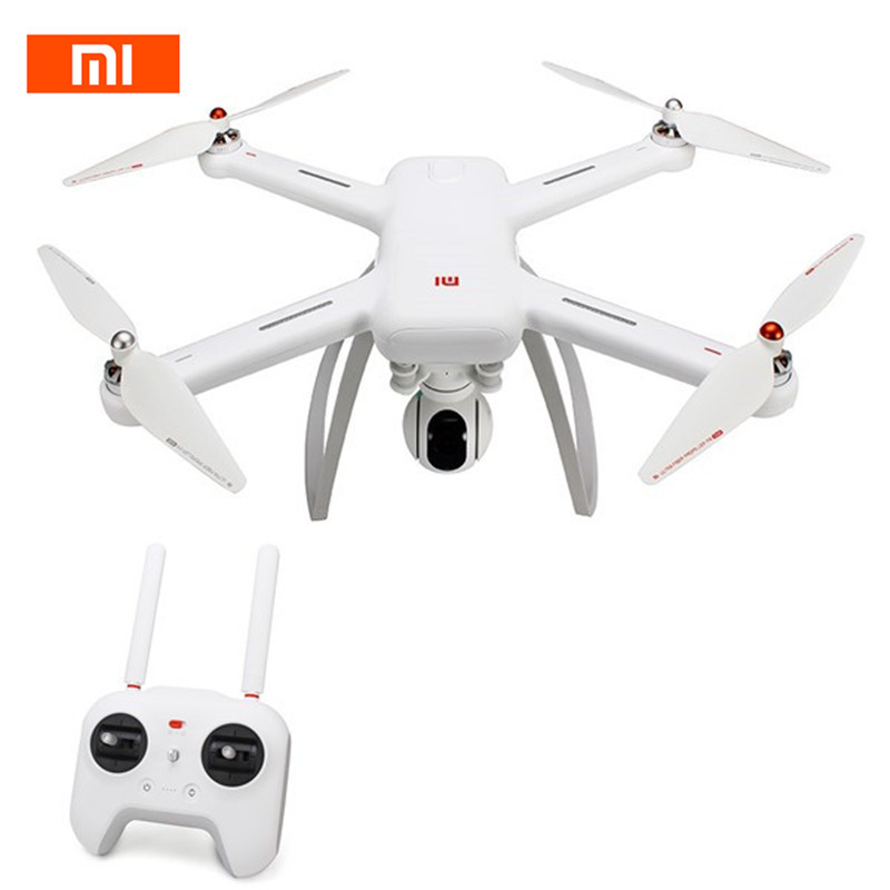Original Xiao mi Drone WIFI FPV con 4 K 30fps 1080 p Cámara 3 eje cardán GPS RC racing Drone Quadcopter RTF con Trans mi tter