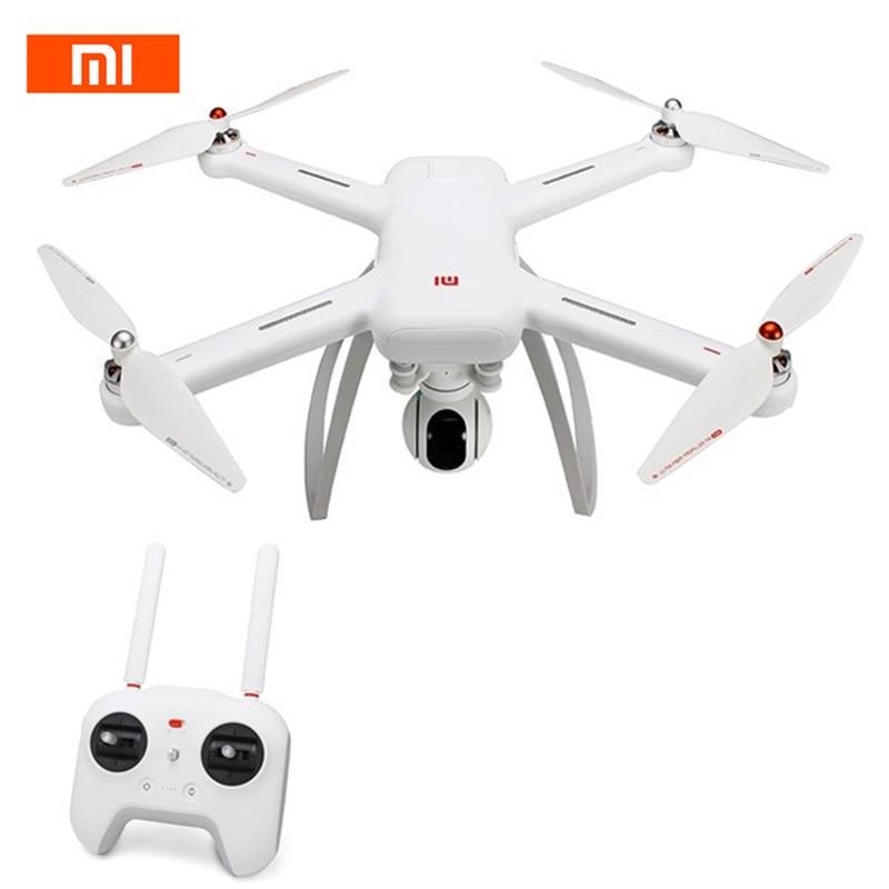 Original Xiao mi Drone WIFI FPV con 4 K 30fps 1080 p cámara de 3 ejes cardán GPS RC racing Drone Quadcopter RTF con la Trans mi tter