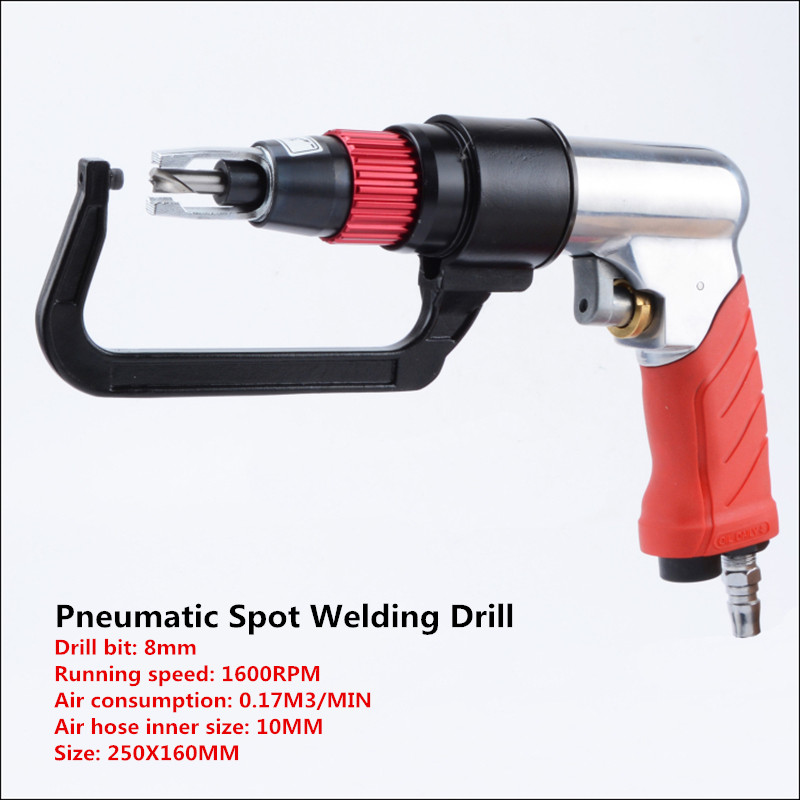 Pneumatic spot welding drill sheet metal spot welding drill removal welding point machine positioning spot welding drill 8mm YPneumatic spot welding drill sheet metal spot welding drill removal welding point machine positioning spot welding drill 8mm Y