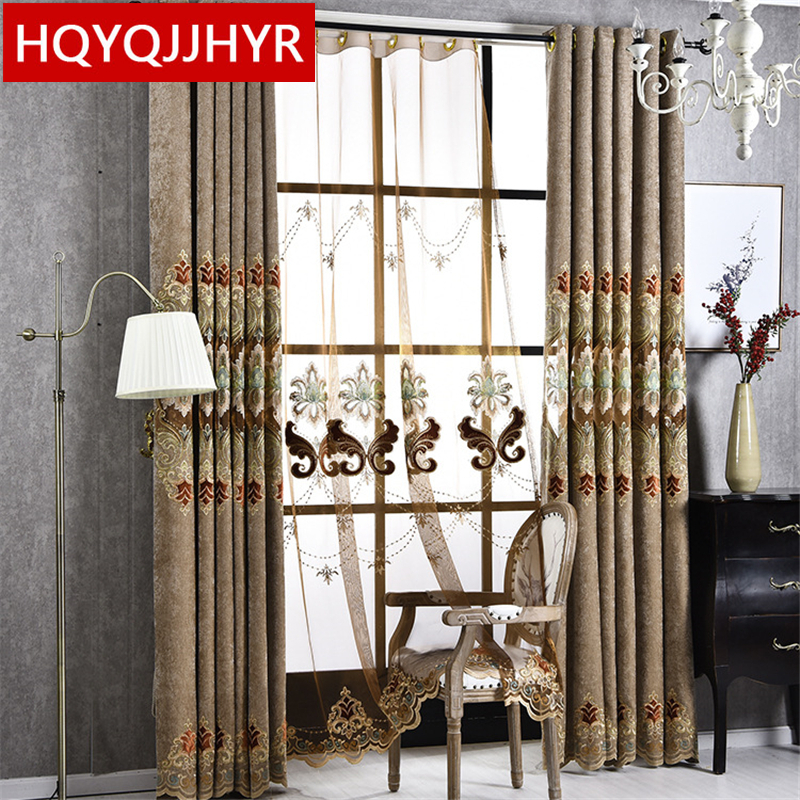 High End Decorative Living Room European Style Luxury: Custom Made European Style High End Custom Embroidery