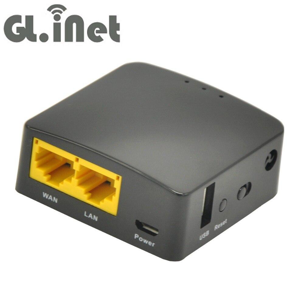 Prix pour GL. iNet GL-AR300M Qulcomm QCA9531 300 Mbps Sans Fil Mini WiFi Routeur OPENWRT Firmware OpenVPN Voyage Routeurs 128 MB RAM/16 MB Rom