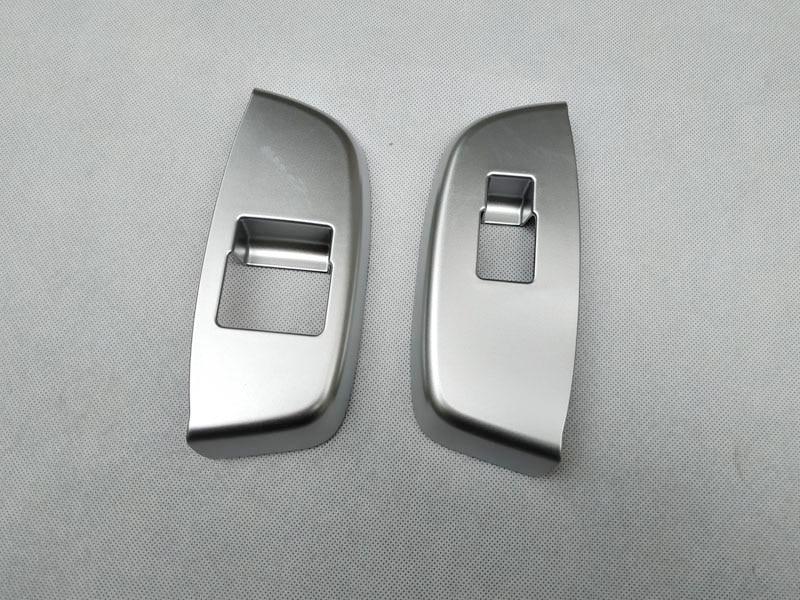 For NISSAN NV200 Evalia 2010 2018  interior Door handle Armrest Cover Sticker trim chrome car accessories (15)