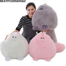 лучшая цена 30CM/50CM Cute Persian Simulation Doll, Fat Cat Plush Toys, Simulation Plush Stuffed Animals, Children's Toy Gifts