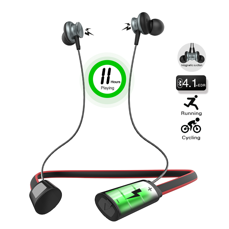 Langsdom 11 Hours Playing Sport Bluetooth Earphone for Phone Wireless Bluetooth Headset Earphones with Microphone fone de ouvido bluetooth earphone headphone for iphone samsung xiaomi fone de ouvido qkz qg8 bluetooth headset sport wireless hifi music stereo