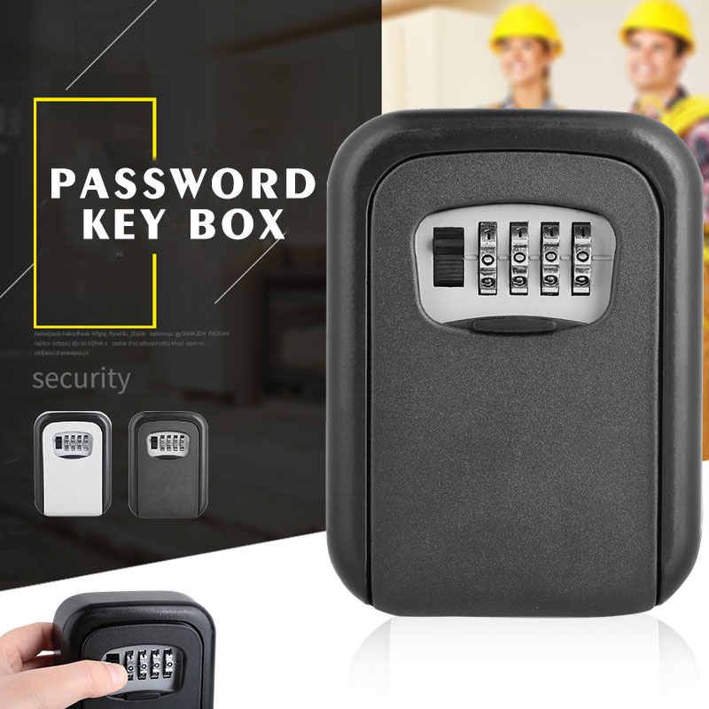 Resettable Code Storage Lock Box Durable Self Organizer Wall Mounted Lock Box for Cheap Box Digital Security HomeResettable Code Storage Lock Box Durable Self Organizer Wall Mounted Lock Box for Cheap Box Digital Security Home