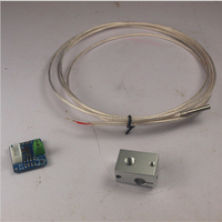 Reprap Prusa I3 Kossel 3D Printer E3D V6 PT100 Total Upgrade Kit PT100 Temperature Sensor V6
