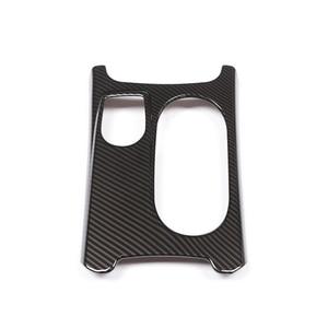 Image 3 - Tapa para consola central de coche, tapa para posavasos, textura de fibra de carbono/cromo, para Mercedes Benz A GLA CLA clase W176 X156 C117