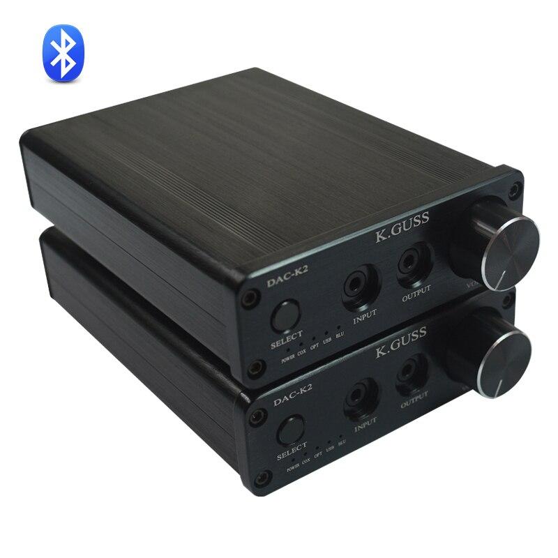 K.GuSS DAC-K2 USB DAC Bluetooth 4.0 hangdekóder erősítő AIO szál - Otthoni audió és videó