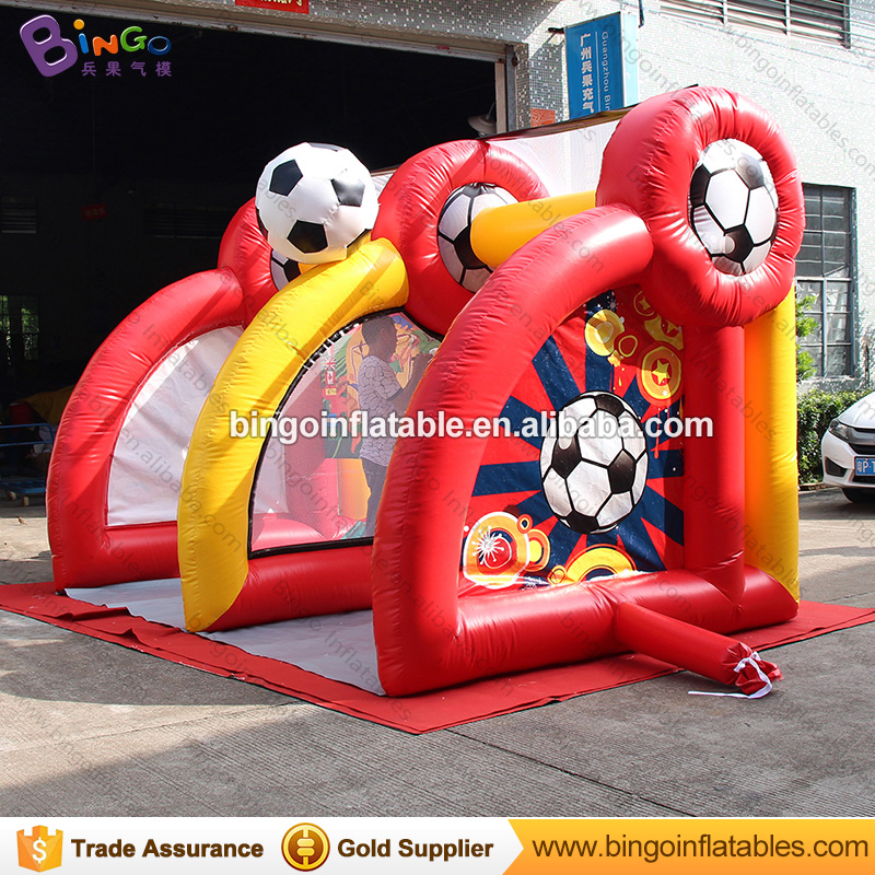 4X2.5X2.5 meters inflatable soccer carnival game / inflatable soccer game / soccer game toys фото