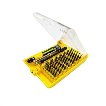 45 in 1 Multifunctional Screwdrivers Tools Kit Used For Mobile Phone Computer Precision Repair Dissemble Household Hand Tools 31 in 1 precision screwdrivers toolkit black yellow