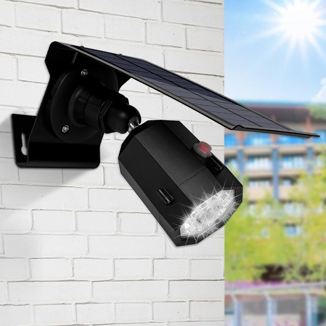 10 Led Outdoor Solar Power Spotlight