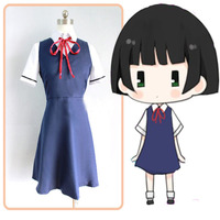 Full set Kokkuri san Ichimatsu Kohina suit Cosplay haloween Costume for women anime harajuku vestidos disfraces 3 in1