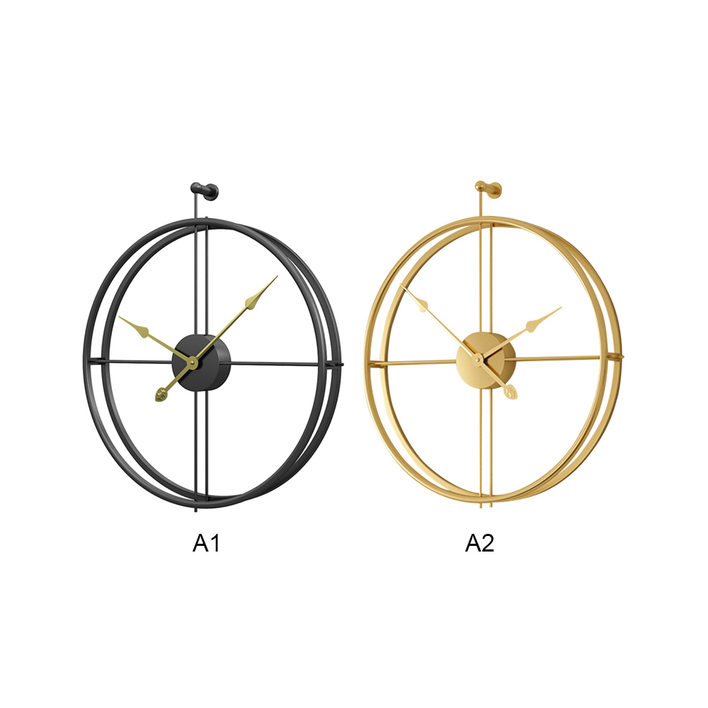Modern Design Large Brief European Style Silent Wall Clock For Home Office Decorative Hanging Wall Watch