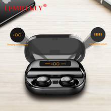 TWS Bluetooth 5.0 Earphone Mini Twins Wireless Earphones Stereo Headset with Microphone IPX7 Waterproof Earbuds YZ274 bluetooth earphone 5 0 mini tws wireless stereo headphone ipx5 waterproof sport headset earbuds with dual microphone