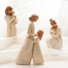 Полные любви маленькие украшения для родителей и детей, украшения для гостиной, офиса, спальни, свадебный подарок