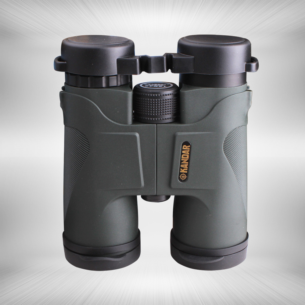 KANDAR 12X42 HD Telescope Wide-angle Hunting Optics Night Vision Binoculars цена