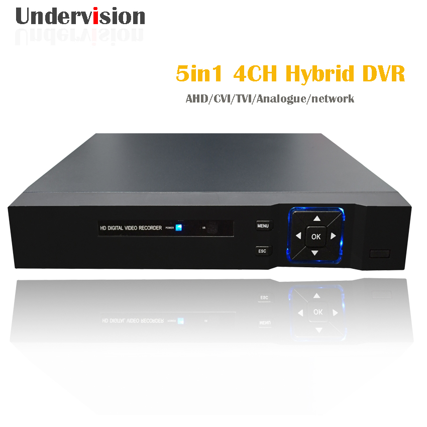 Hybrid 5in1 TVI CVI AHD DVR HDMI 1080N  onvifH.264 P2P Cloud network video recorder nvr 4ch CCTV DVR 4 Channel,free shipping cloud implementation in organizations