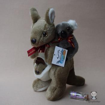 Back Kangaroo Koala  Doll  Child  Plush Toy  Gift