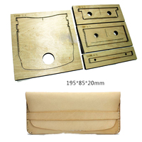 Japan Steel Blade Rule Die Cut Steel Punch Wallet Cutting Mold Wood Dies for Leather Cutter for Leather Crafts