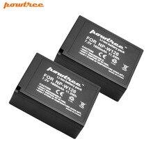 2X 1600mAh Li-ion NP-W126 Camera Battery For Fujifilm FinePix HS30EXR HS33EXR X-Pro1 X-E1 X-E2 X-M1 X-A1 X-A2 X-T1 X-T10 L15