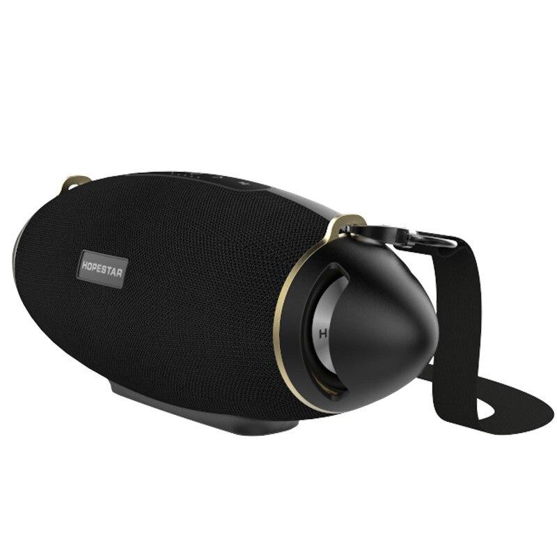 HOPESTAR H20 + boom Coluna Portátil Sem Fio Bluetooth Speaker Super Bass Subwoofer Suporte TF USB caixa de Som À Prova D' Água Ao Ar Livre
