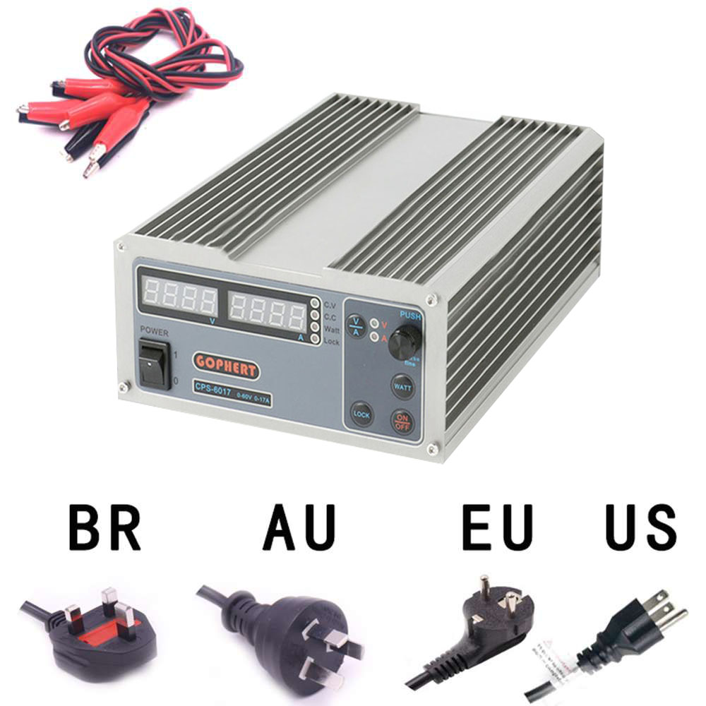 High Power Digital Adjustable DC Power Supply CPS-6017 1000W 0-60V/0-17A Laboratory power supply