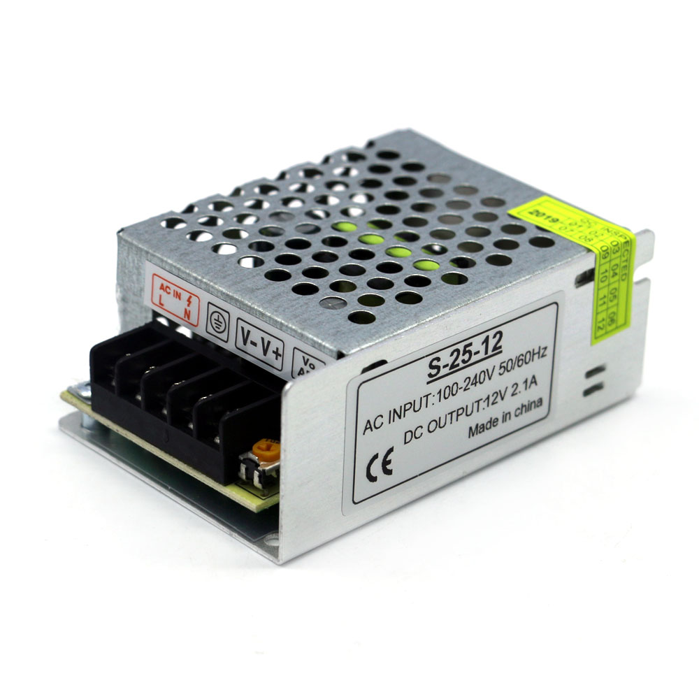 Electronic Lighting Transformers Ac 220V <font><b>110V</b></font> to Dc <font><b>12V</b></font> 2A 25W Constant Voltage <font><b>Power</b></font> <font><b>Supply</b></font> Transformers for lighting image