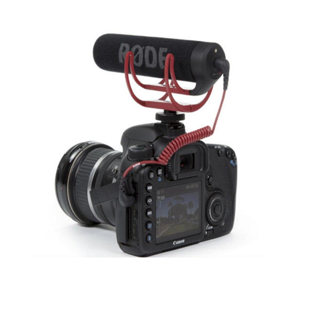 Nouveau Microphone Rode VideoMic Aller Vidéo Caméra Mic Enregistreur De Poche Filaire 3.5mm Pour Canon Nikon Sony DV DSLR 600D 70D D90 D3S