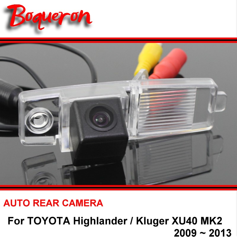 For TOYOTA Highlander / Kluger XU40 MK2 2002~2013 Car Rear View Camera Rearview Parking Reverse Backup HD SONY CCD Night Vision