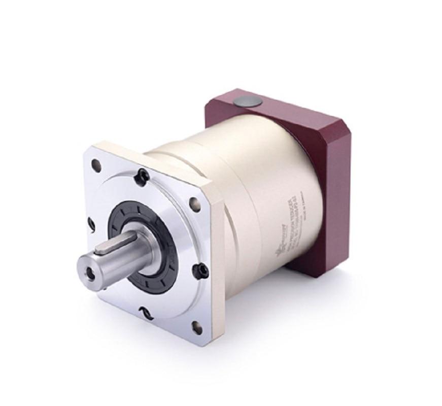TF080-007-S2-P2 90mm standard planetary gear reducer Ratio 7:1 for 750w 80mm 90mm AC servo motor high precision 3 stages lrh90 19mm 12 arcm planetary gear reducer disc type ratio 80 1 100 1 for nema32 80mm servo motor