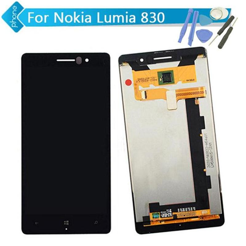 5 inch For Nokia Lumia 830 LCD Display Touch Screen Digitizer Assembly +Tools