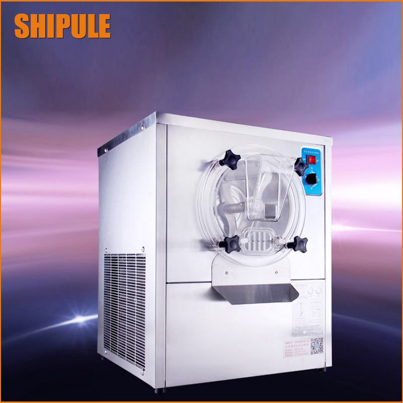 Hard Ice Cream Making Machine Commercial Steel Soft Serve Ice Cream Machine 220V 1500W 12-15L/H ice cream machine  недорого