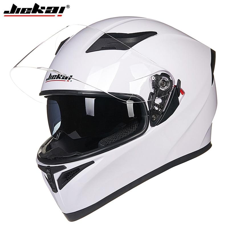 2018 New Arrival Racing Cyklistická helma DOT schválená motocyklová helma s dvojitým objektivem design odnímatelná a omyvatelná vložka