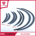 RASTUNING 2Pcs/set Carbon Fiber Style Fender Flares Universal Arch Wheel Eyebrows Protect Ant-Scratch RS-LKT008