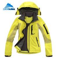 New Winter Windstopper Outdoor Jacket Women Hiking Skiing Waterproof Coat Camping Jaqueta Feminina Climbing Casaco Feminino