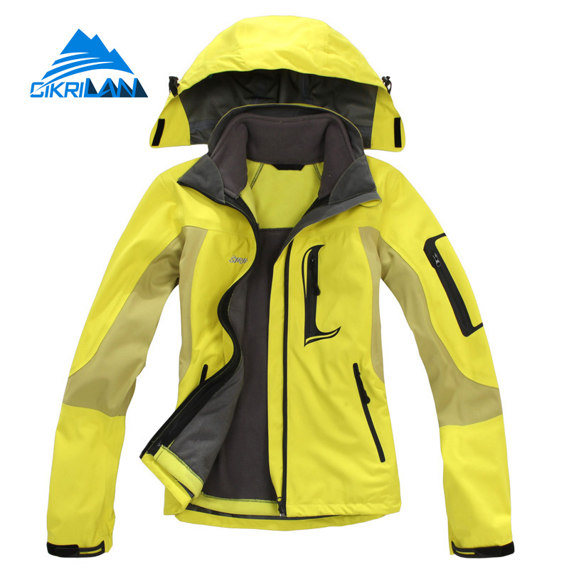 New Winter Windstopper Outdoor Jacket Women Hiking Skiing Waterproof Coat Camping Jaqueta Feminina Climbing Casaco Feminino