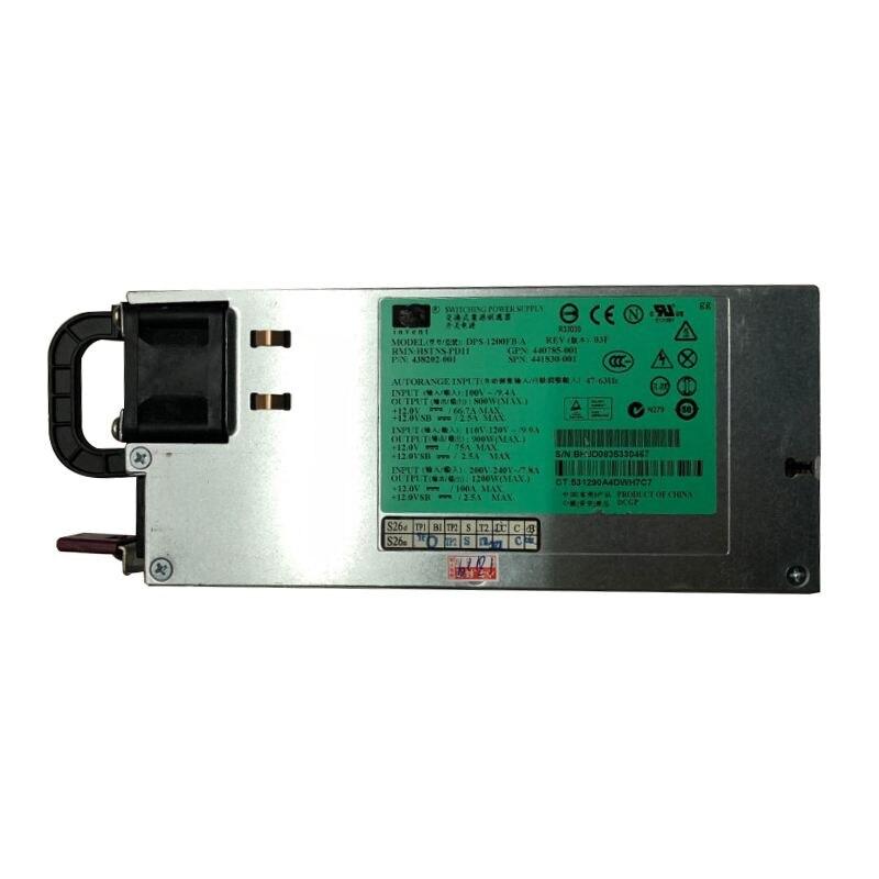 For HP 1200W CS Platinum Hot Plug Power Supply 578322-B21/579229-001/570451-001/570451-101/DPS-1200FB-1For HP 1200W CS Platinum Hot Plug Power Supply 578322-B21/579229-001/570451-001/570451-101/DPS-1200FB-1