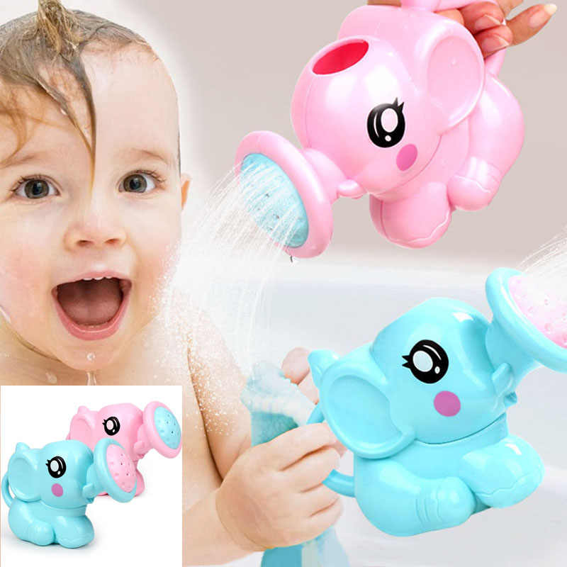 Baby cartoon elephant shower cup noworodek szampon pod prysznic kubek baby shower kubek do wody kubek do kąpieli 2 kolor