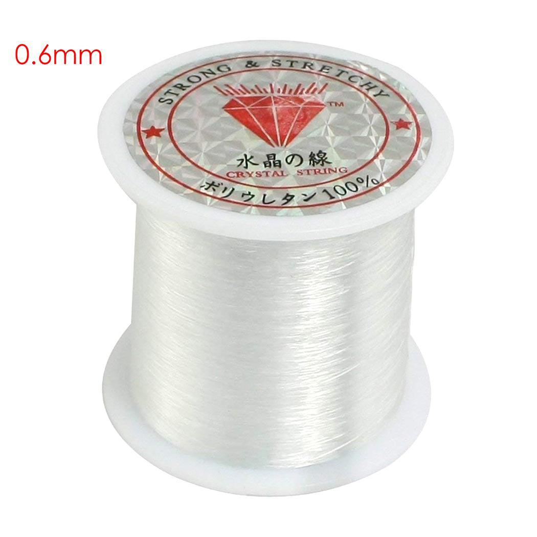 Transparent White Nylon without Spool Wire DIY Fish Fishing Weaving String Elastic Beading Line diameter 0.25,0.3,0.35-0.6mm