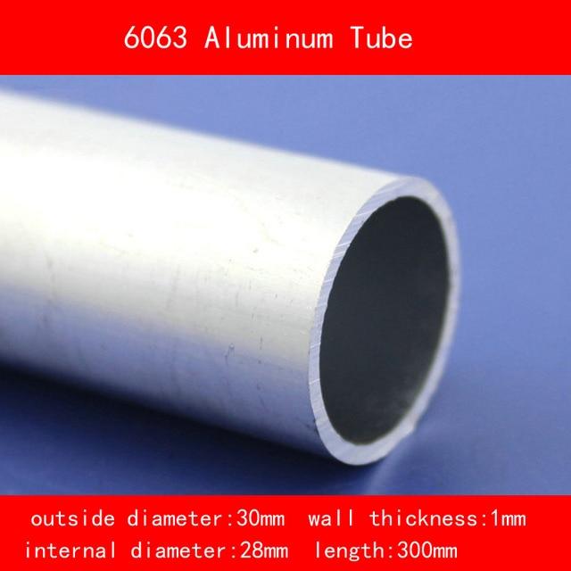 """995mm Long 30mm dia x 16swg Aluminium Tube 1.1//4/"""""""