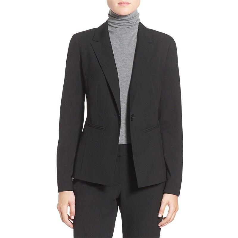 New Pants Suit Formal Office Suit Work Elegant Lady Suit Ladies Spring And Autumn Winter Dress Women's Tailless Dress Custom