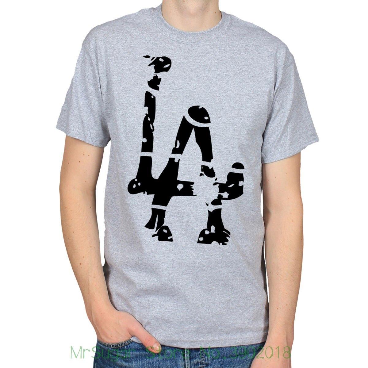 L. a. Лос-Анджелес, Калифорния США трафарет Граффити-стрит Книги по искусству Для мужчин s футболка Для мужчин Костюмы плюс Размеры