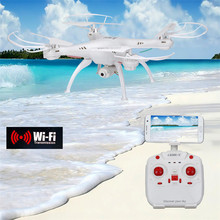 Высокая Quqlity LiDiRC L15W 4CH HD Камера WiFi FPV 2.4 Г 6-осевой Гироскоп RC Quadcopter Высота Удержания Подарок Игрушки Оптом Бесплатно доставка